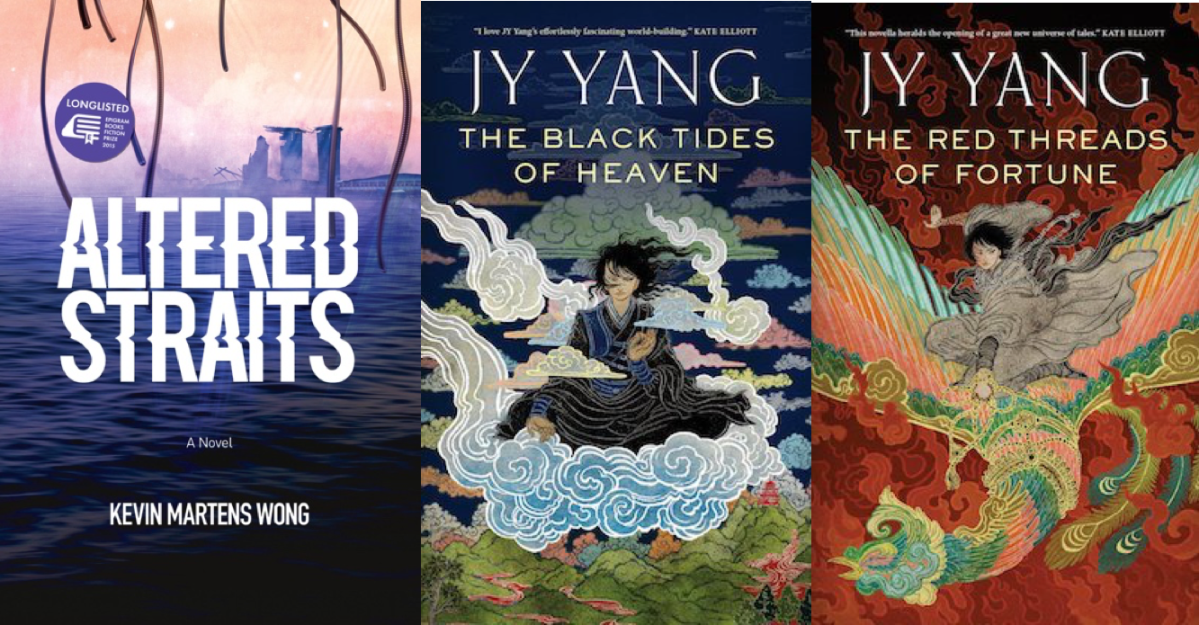 [Review] The Rise of Queer Singaporean Sci-Fi: Kevin Martens Wong's Altered Straits and JY Yang's Tensorate Series