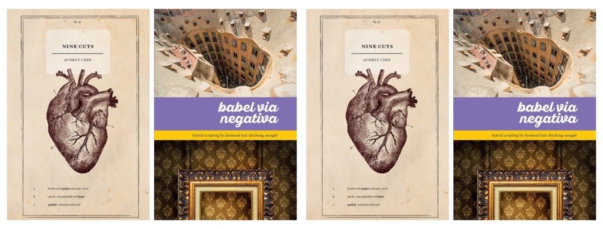 [Review] Dissecting Love and Language through Audrey Chin's Nine Cuts and Desmond Kon Zhicheng-Mingdé's Babel via Negativa