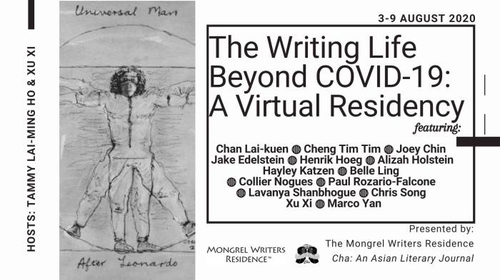 The Writing Life Beyond COVID-19_A Virtual Residence